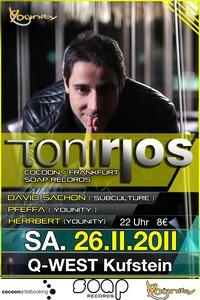 younity pres. Toni Rios (cocoon, Frankfurt)