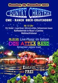 Country Christmas mit Don Attila Band@CMC Ranch Ober-Grafendorf