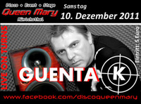 Guenta K. Live on Turntables...@Disco Queen Mary