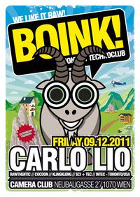 Boink! with Carlo Lio@Camera Club
