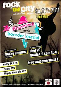 "Rockthecity feat. Jim Beam Rockzone: ""Almrausch meet´s Boarder Special!""@OST Klub"