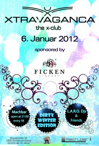 Xtravaganca / the X-Club / Dirty Winter Edition@mach_bar