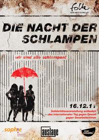 Folk #3 - Nacht der Schlampen - Charity@Club Auslage