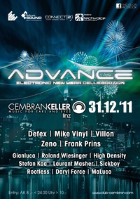 Advance - electronic new year celebration@Club Cembrankeller