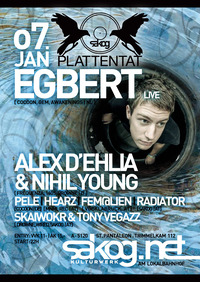 Plattentat | Egbert Live