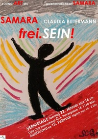 Samara (Samara-Claudia Bittermann) frei.SEIN!@Cafe Club International C.I.
