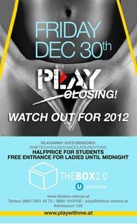 Play! – Die letzte Runde@The Box 2.0