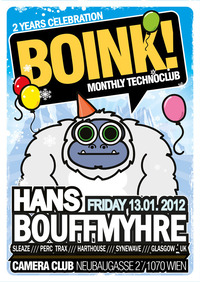 Boink! with Hans Bouffmyhre - 2 Years Celebracion@Camera Club