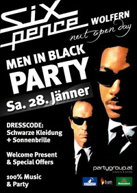 Men in Black Party | Six Pence@Club Six Pence