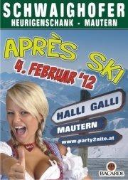 Apres Ski - Party@Schwaighofer