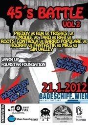 45´s Battle Vol. 2@Badeschiff