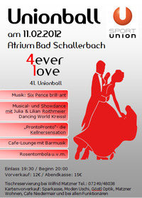Unionball Bad Schallerbach 2012
