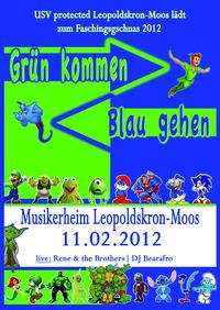Faschingsgschnas Leopoldskron-Moos (Grün kommen - Blau gehen)@Musikerheim Leopoldskron-Moos