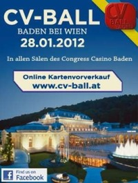 CV-Ball Baden - Der Traditionsball in Niederösterreich@Congress Casino