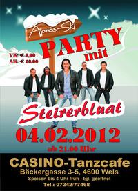 Apres Ski Party mit Steirerbluat@Casino-Tanzcafe