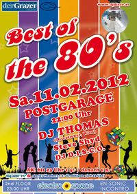 Best of the 80s + electro_space@Postgarage