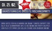 Oberösterreichs Grösste Faschingsparty