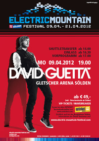 Electric Mountain Festival - David Guetta