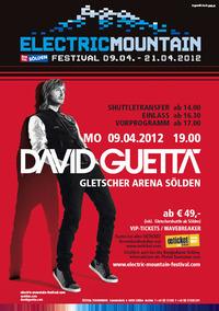 Electric Mountain Festival - David Guetta@Gletscher Arena