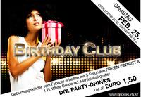 Birthday Club mit DJ Lipps @Brooklyn