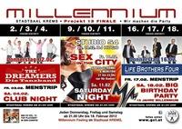 13 Wochen Millennium Feeling - Menstrip@Stadtsaal Krems