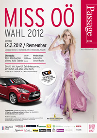 Miss OÖ Wahl 2012