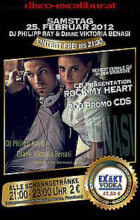 DJ Philipp Ray & DJane Viktoria Benasi