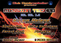 Mission Techno@Club Cembrankeller