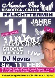 11 Jahre N1 mit Groove Coverage - Dj Novus Live!
