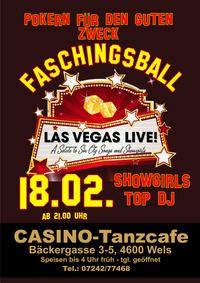 Faschingsball - Las Vegas live@Casino-Tanzcafe
