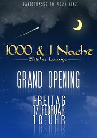 Grand Opening@1001 & 1 Nacht – Shisha Lounge