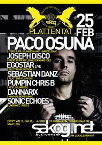 Plattentat | Paco Osuna@Kulturwerk Sakog