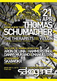 Plattentat | Thomas Schumacher + Minimalbewegung Floor