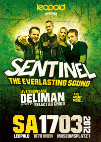 Leopold Special starring Sentinel Sound (DE), Deliman (AUT) & Many More@Café Leopold