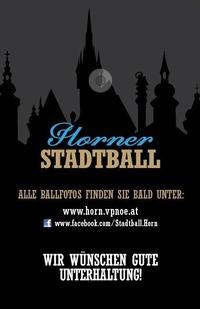 Horner Stadtball