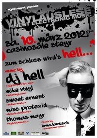 Vinylauslese mit DJ Hell - vorletzte Vinylauslese!