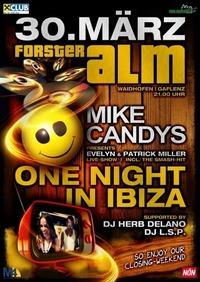 One Night in Ibiza - Closing Weekend