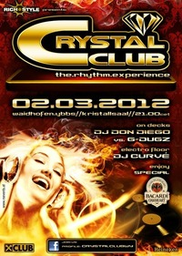"Crystal Club ""The Rhythm Experience"""