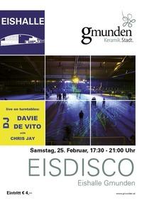 Eisdisco Gmunden mit DJ Chis Jay and DJ Davie de Vito@Eishalle Gmunden