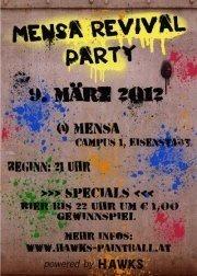 Mensa Revival Party@Campus der Uni Wien