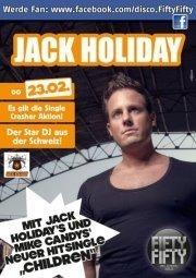 Schweizer StarDJ Jack Holiday Live!