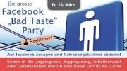 Facebook bad taste party