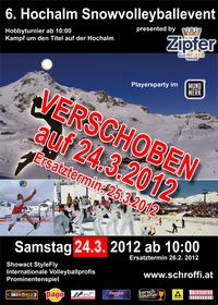 Sandmänner im Schneegestöber - 6. Snowvolleyball-Spektakel auf der Hochalm@Hochalm (Obertauern)