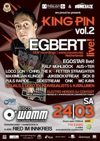 King Pin vol. 2@Club Womm