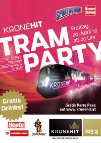 Kronehit Tram Party@Wien
