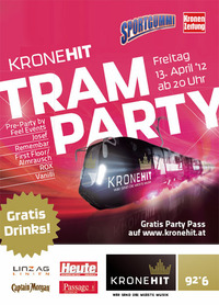 Kronehit Tram Party@Taubenmarkt