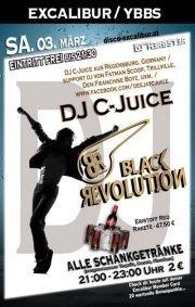 Black Revolution mit DJ C-JUICE - Excalibur Ybbs