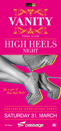 Vanity pres. Shoetation High Heels Night