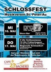 Schlossfest des MV St. Peter/Au@Schloss Sankt Peter an der Au