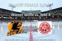 Finale Wiener Wölfe - Wat X@Albert-Schultz-Eishalle